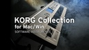 TRITON software on KORG Collection for Mac Win