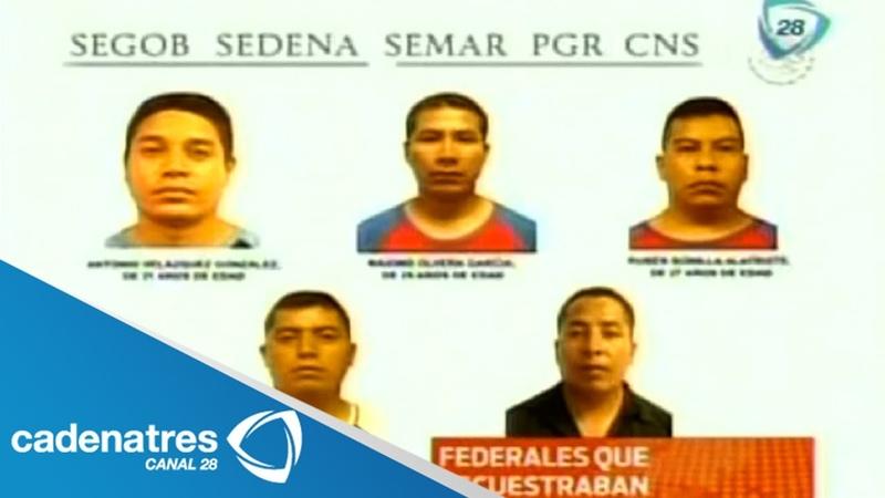 Capturan a banda de secuestradores integrada por policías federales; operaban en Acapulco