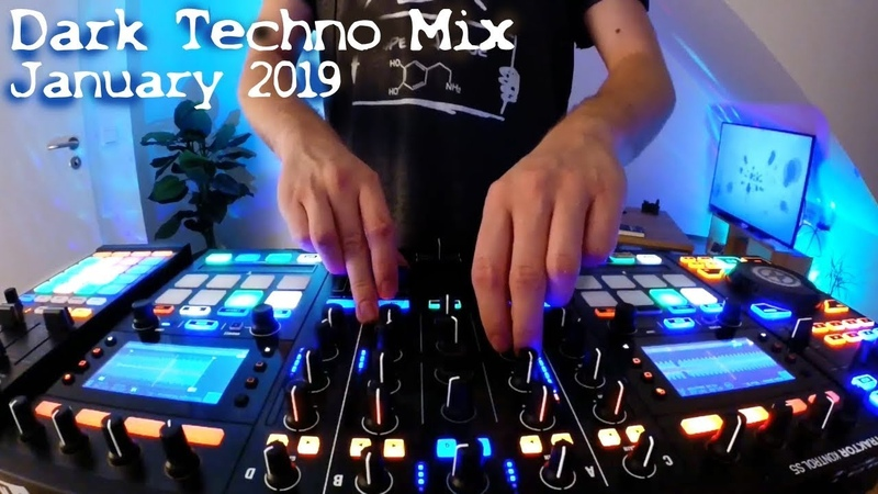 Dark Techno Underground Mix 2019 January