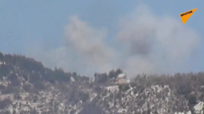 SYRIAN ARMYS FOOTAGE BATTLING T.I.P TERRORISTS IN NORTHERN LATAKIA COUNTRYSIDE