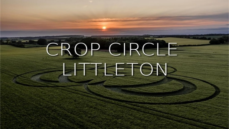 New Crop Circle Sunset at Long Wood Littleton Hampshire Reported 3 6 2019