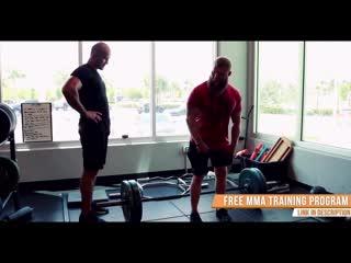 2. Джуниор Дос Сантос. Силовая выносливость. Тренировки для гипертрофии мышц