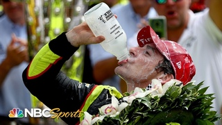Simon Pagenaud analyzes final laps of Indianapolis 500 victory | Indy 500 | Motorsports on NBC