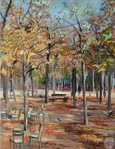 Виктор Лукьянов - художник из Москвы.