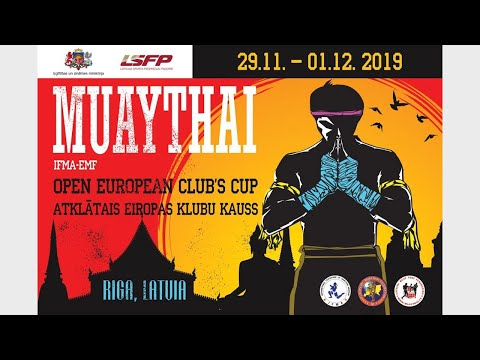 Open European Muaythai Club's Cup 2019 I 01.12.2019