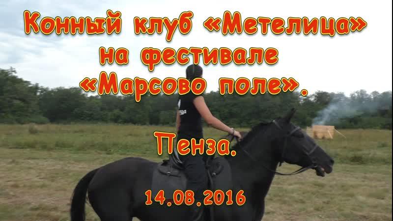 Конный клуб «Метелица» на фестивале «Марсово поле». Пенза. 14.08.2016