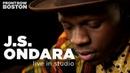 J S Ondara Live In WGBH's Fraser Performance Studio 12 05 18