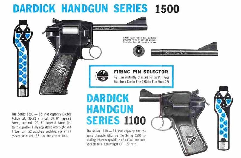 Пистолет-револьвер Дардика, США, изображение №2