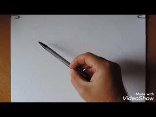 Speed art drawing 2019