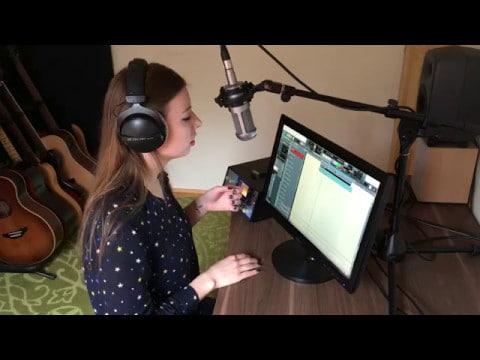 Clean Bandit - Rockabye (a capella looper cover by Nági)