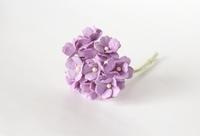Цветы вишни средние - св. сиреневый  5 шт - 28 руб  диаметр цветка 1,5-2см высота цветка 1 см длина стебля 7 см