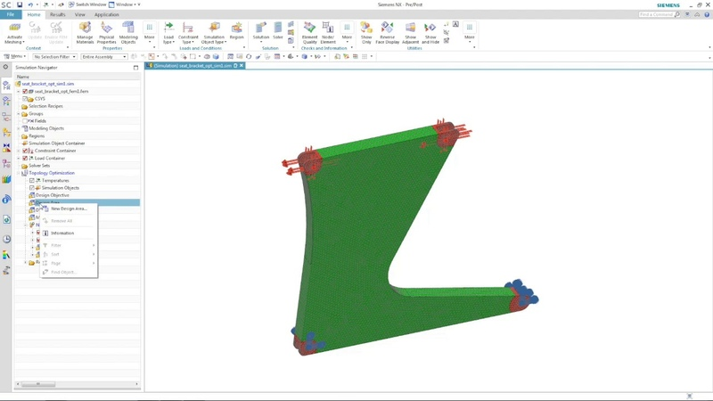 NX Nastran Topology Optimization for Analysts
