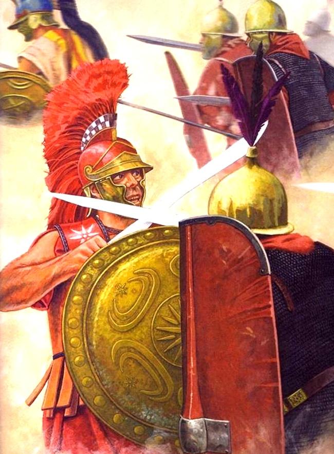 Бой с римлянином