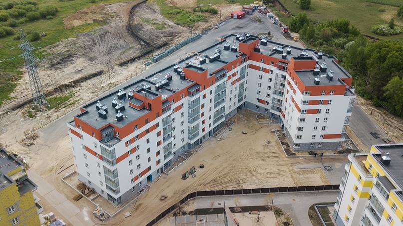 Отчет о ходе строительства ЖК «Апрель» май 2020, изображение №29