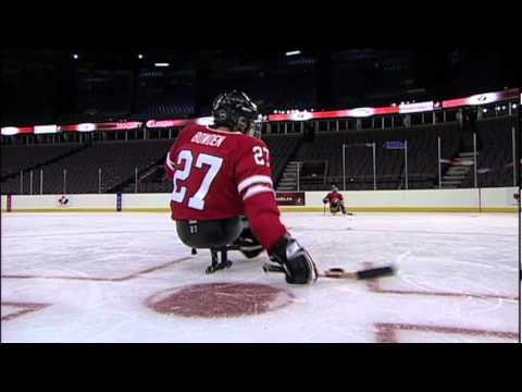 Sledge Hockey Skills Basic Passing