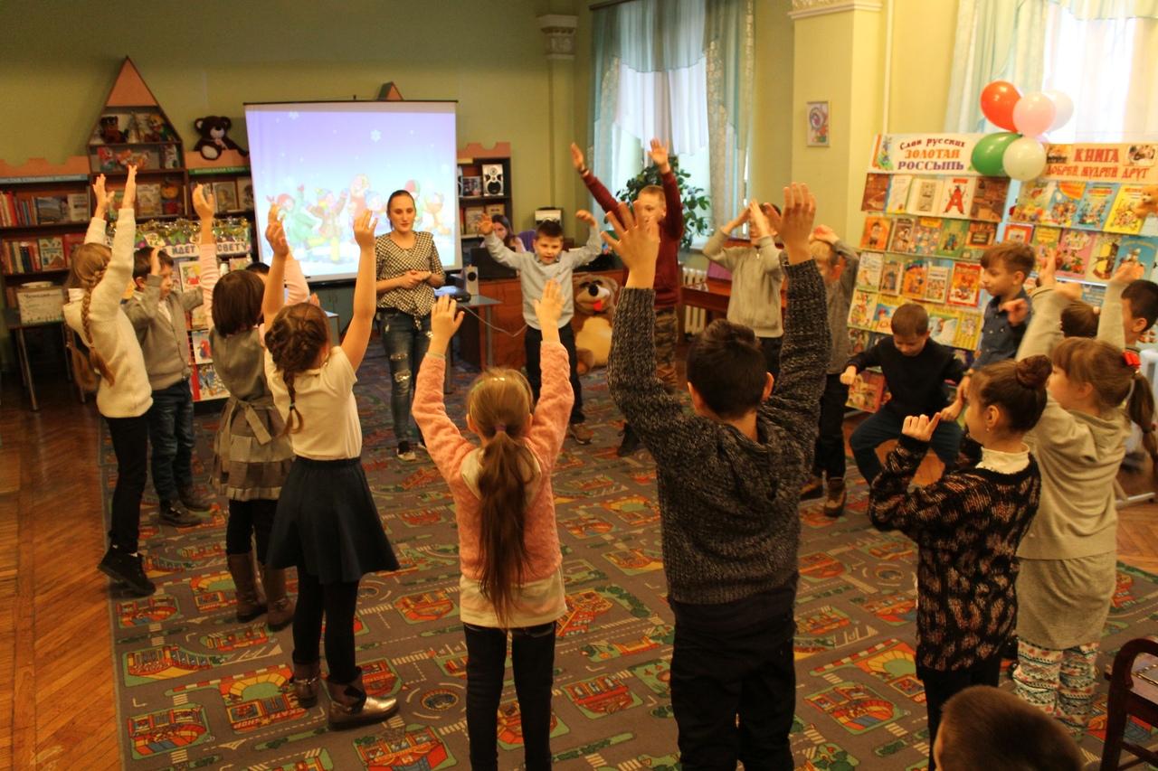 донецкая республиканская библиотека для детей, отдел обслуживания дошкольников и учащихся 1-4 классов, день рождения деда мороза, занятия с детьми, детям обо всем на свете