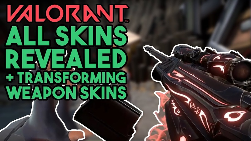 Valorant All Skins Weapon Charms Sprays and More in beta Valorant Gameplay