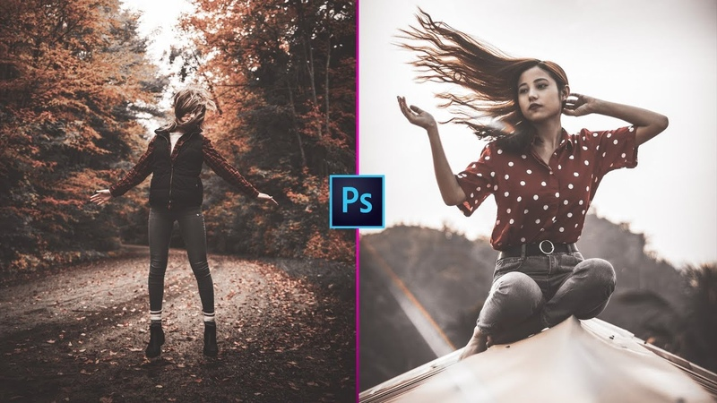 BLACK MATTE Color Grading in CAMERA RAW FILTER | FREE PRESET | Photo Effects
