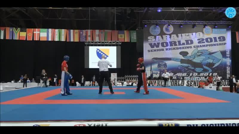 Ольга Григорьева финал чемпионата мира по кикбоксингу вк 55 кг WAKO World Championships 2019