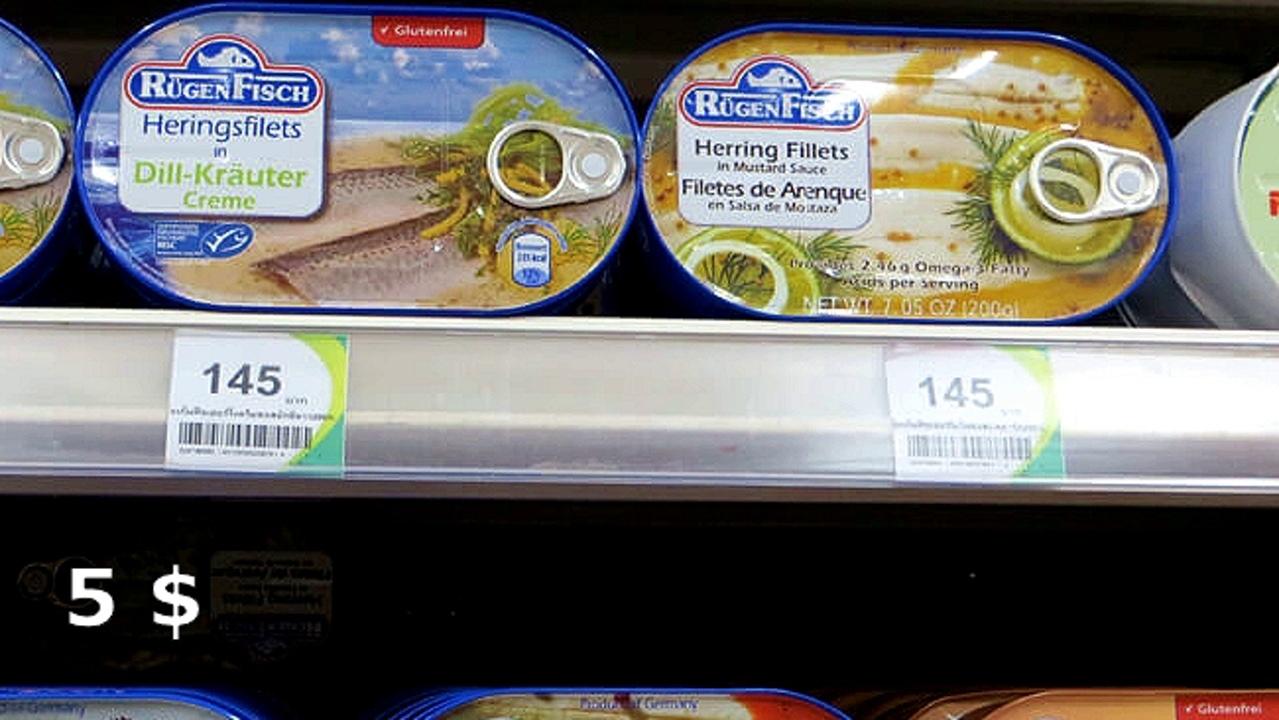Цены на продукты и еду в Таиланде.  XKfuGgBsF74