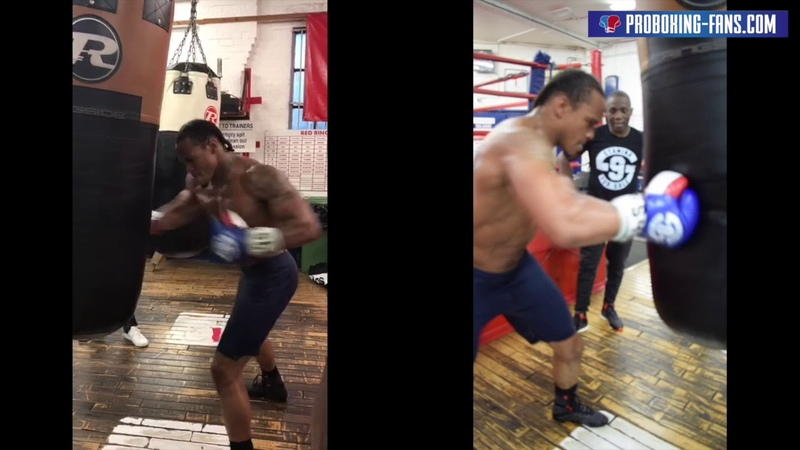 Anthony Yarde ProBoxing 20 second Punchbag Challenge