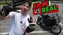 I tested FAKE $20 motorcycle gloves VS REAL $400 gloves do not buy fake gloves