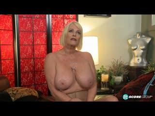 Трахнул бабушку с большими сиськами, busty granny milf mature sex porn big tit anal ass HD cum (Инцест со зрелыми мамочками 18+)