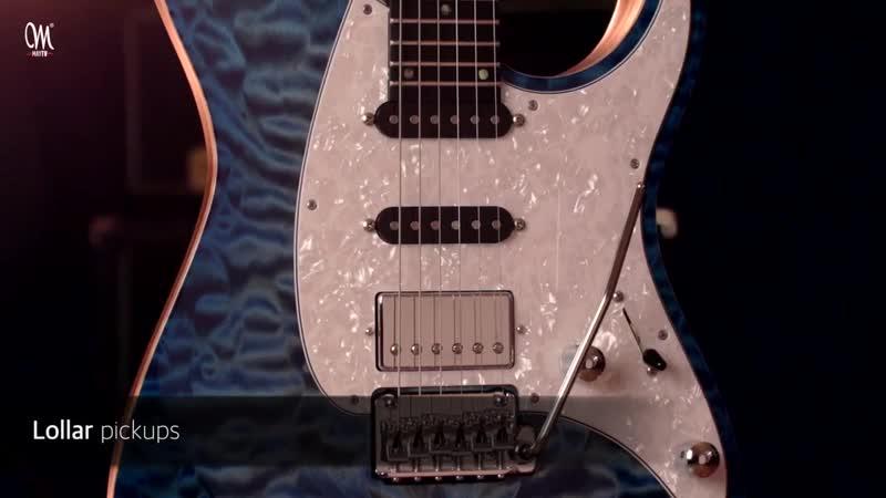 Новая серия гитар Mayones - Aquila