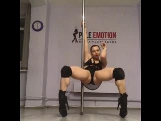 Мария Платицына exotic pole dance