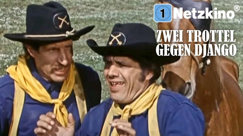 Zwei Trottel gegen Django (Westernfilm in voller Länge, kompletter Film auf Deutsch, ganzer Film)