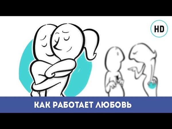 Как живет любовь. Гениальный мультфильм про любовь онлайн | How does love works