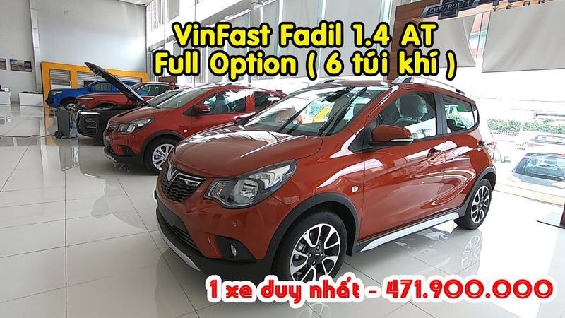 Duy nhất 1 VinFast Fadil - Bản full 6 túi khí - màu cam tại VinFast Việt Long Quận 12 LandMark 81