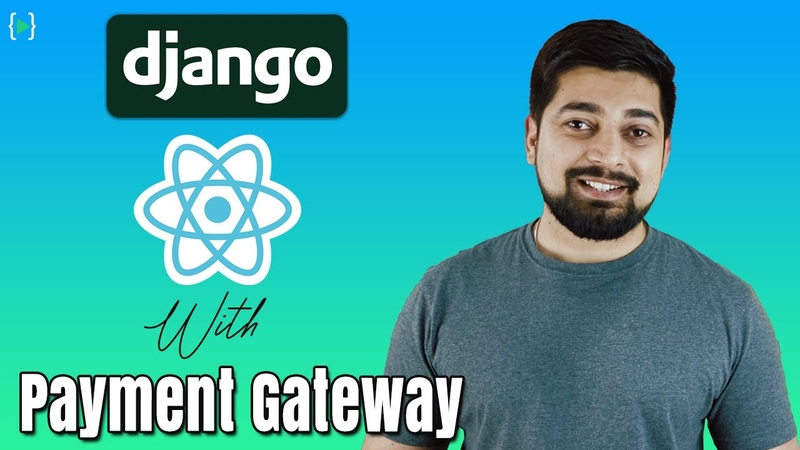 Full stack developer with Django and React New Course