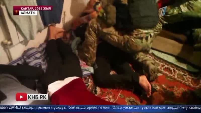Террорист Алматыдағы үш сауда орнын жармақ болған
