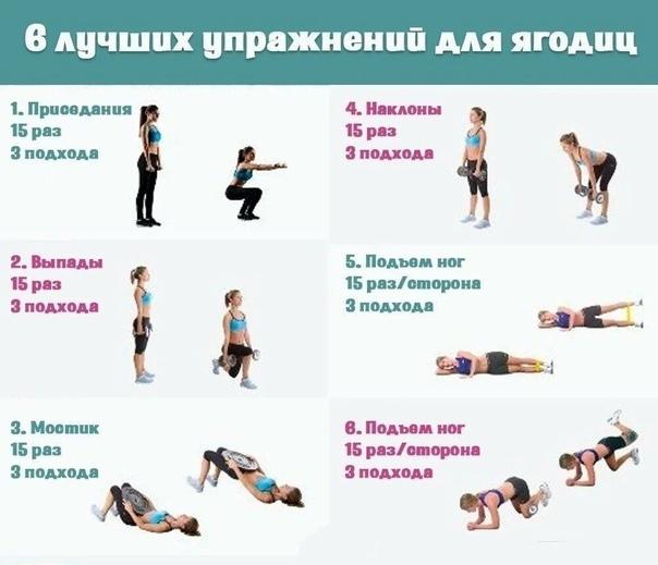 Упражнения Сбросить Вес Дома. Похудеть за месяц. Программа тренировок и план питания