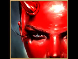 Gothic demon lady evil angel