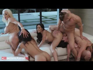 Nicolette Shea  Quinn Wilde, Honey Gold, Karmen Karma, Kissa Sins, Lela Star - Greedy Bitches _720p_Rotated16238