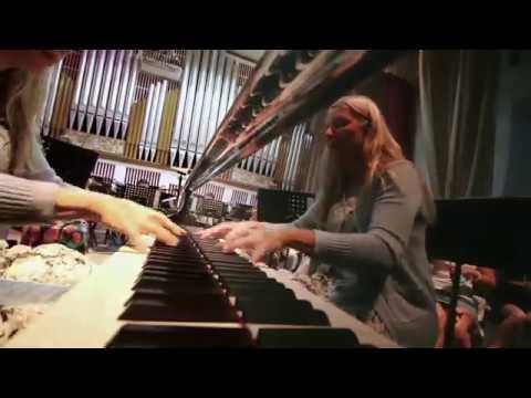 Валентина Лисица репетиция в Донецкой филармонии 20 08 19