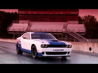Meet the 2020 Mopar #Dodge-SRT #Challenger Drag Pak unveiled at #SEMA