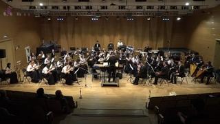 Leonard Bernstein. Candide: Overture. Russian folk instruments orchestra, Petrozavodsk Conservatory