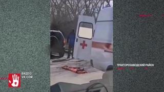 В Тракторозаводском районе маршрутка с пассажирами попала в ДТП