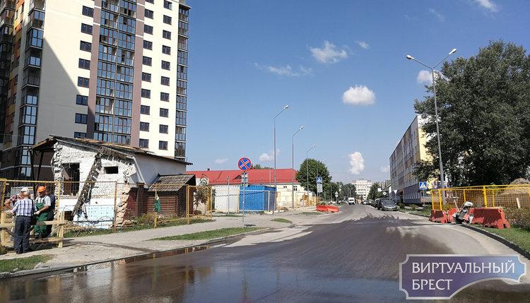 По улице Папанина и Интернациональной в Бресте будет запрещено движение. Что случилось?