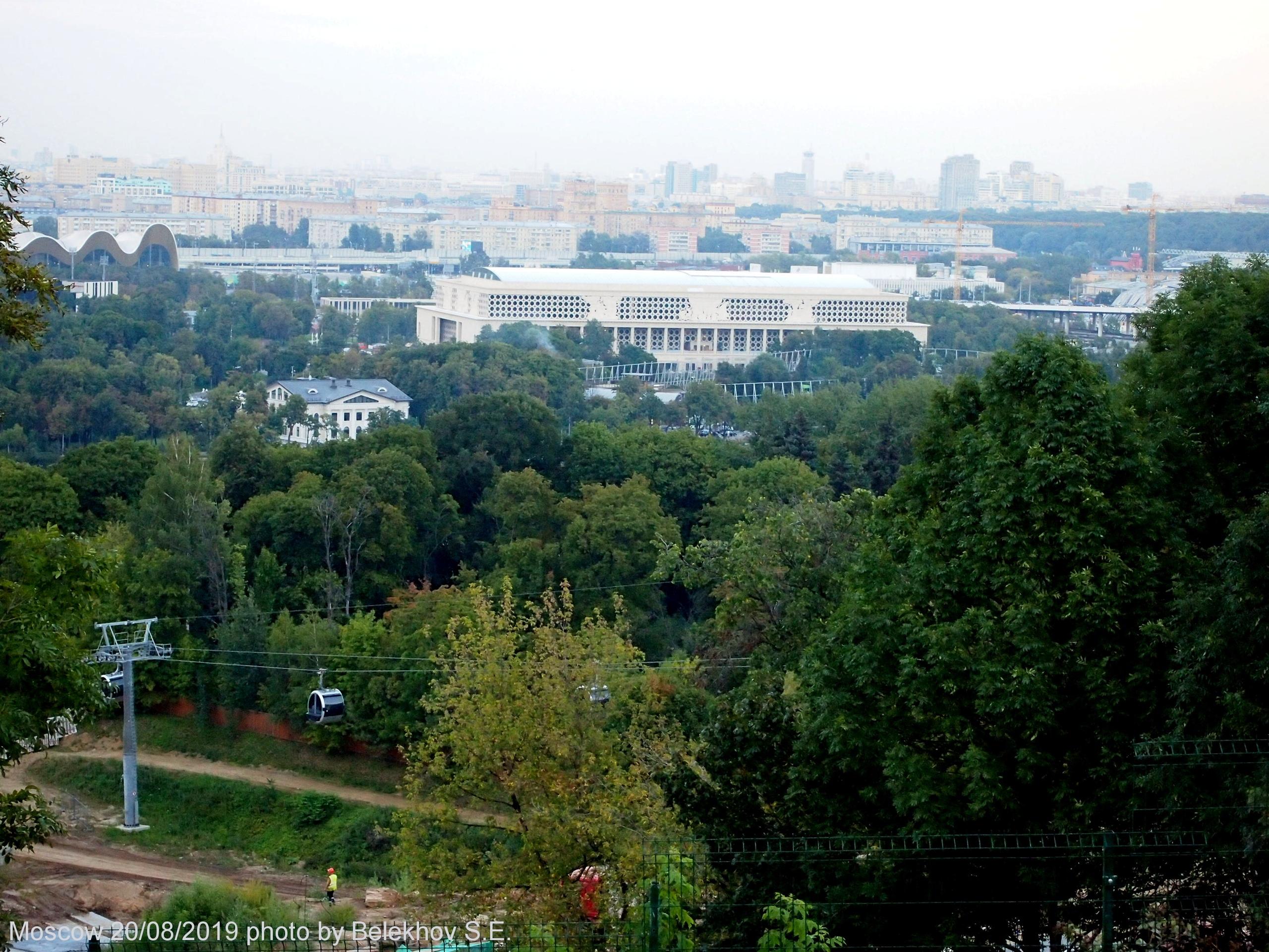 Москва, Воробьёвы Горы