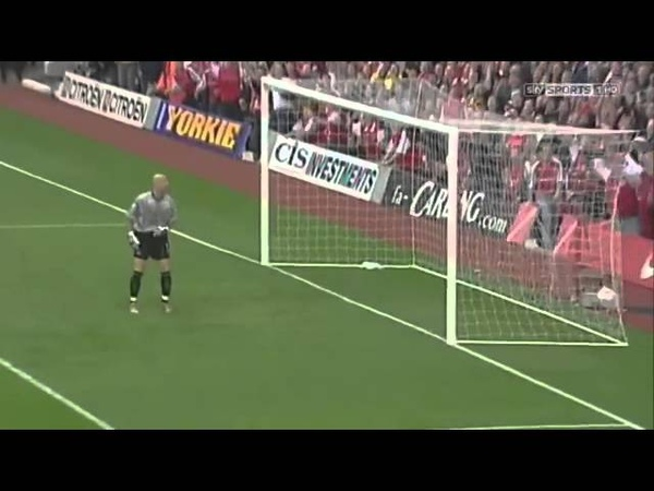 Thierry Henry's amazing goal vs Manchester United!