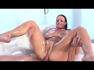 Angela White - Oil For Days Pussy Squirt, Oiled Anal - All Sex Anal Big Natural Tits Ass Oil, Porn