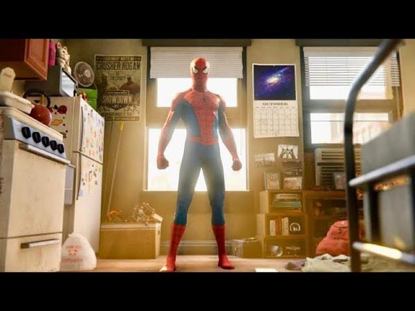 Spider Man PS4 Opening Cutscene