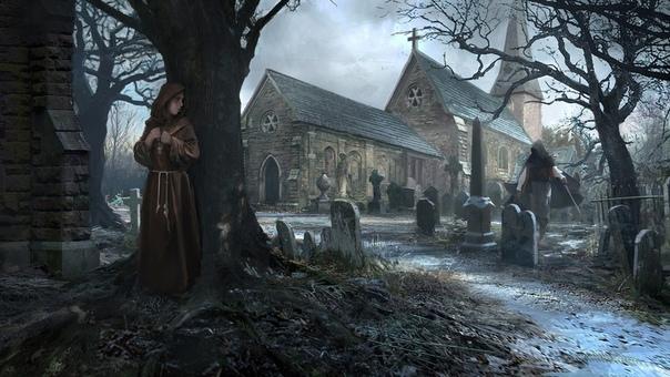 Знак Наидобрейший мрачно взирал на пустошь. Стоя на главной башне монастыря, он впервые чувствовал себя уязвимым. Небо набухло тучами полными ледяной воды. Пронизывающий ветер трепал края