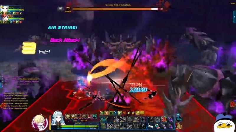 Closers Мульти и Le satan pirate Crew dungeon 8 8 этап миссий гильдии