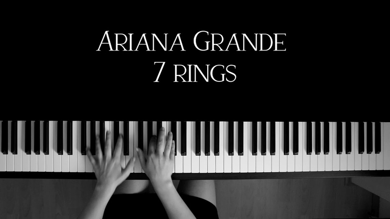 Ariana Grande - 7 rings (Piano Cover by Lakewood)