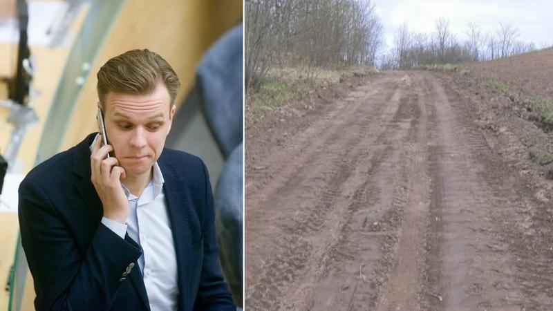 Kelias į kaimo žmonių sodybas tapo Gabrieliaus Landsbergio mamos nuosavybe